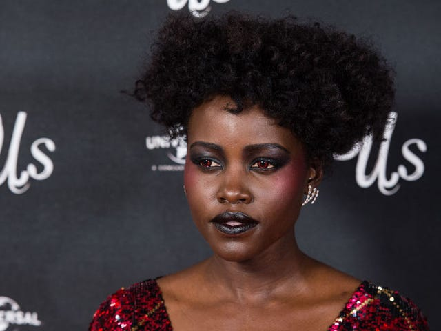 Lupita Nyong'o's Blood Red Contacts Are Very Good