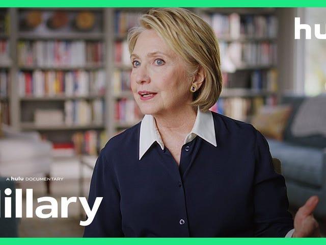 Hulu'dan Hillary fragmanı, kutuplaşan halk figürüne ayrıntılı bir bakış atıyor