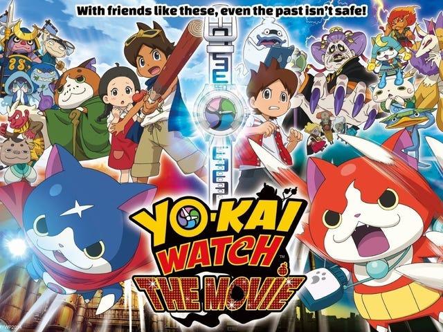 La primera película de <i>Yo-Kai Watch</i> llega su día en los cines norteamericanos el próximo mes
