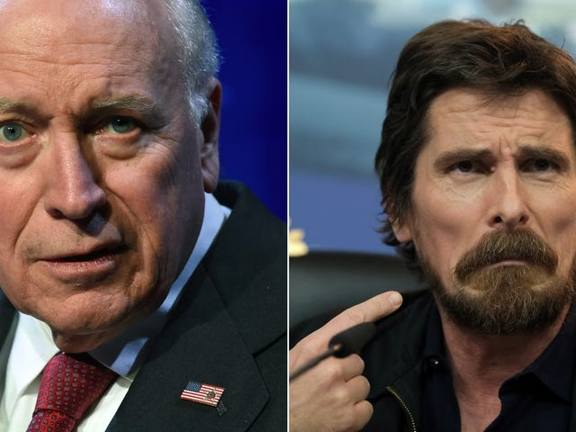 "Dick Cheney on Christian Bale's Vice performance: ""Tell him he's a dick"""
