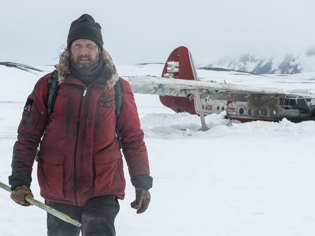 It's Mads versus nature in the survival thriller Arctic