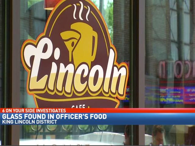 La police ne croit pas que du verre trouvé dans le sandwich de l'officier était intentionnel