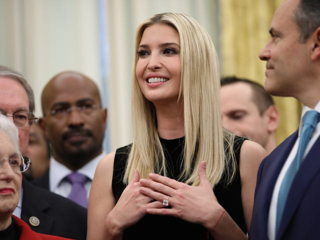 Ivanka Trump to Empower Every Single Woman on the Entire Planet