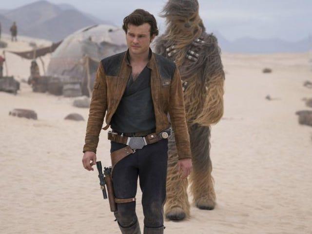 <i>Solo</i>, la película de <i>Star Wars</i>, no entra en la carrera por los Oscars porque alguien se olvidó de enviarla