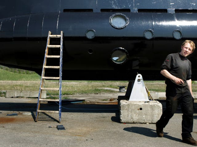 Man Behind Crowdfunded Submarine Charged With Murder of Journalist Kim Wall