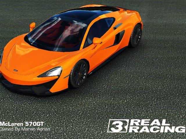 J'ai eu cette belle McLaren 570GT gratuitement