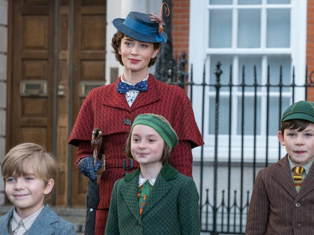 A spoonful of nostalgia helps the calculated Mary Poppins Returns go down