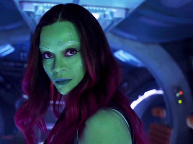 Zoe Saldana Shares Video Showing How Long It Takes to Get Into Gamora Makeup