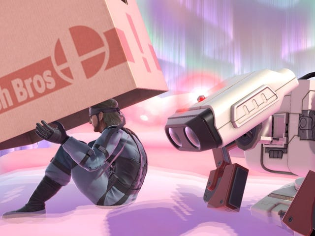 The Only Think I Want For Smash Ultimate Is A Better Screenshot Mode