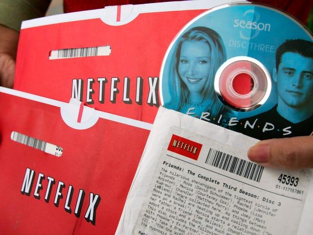 20 años más tarde, Netflix sigue alquilando DVDs (y ganando dinero con ellos)