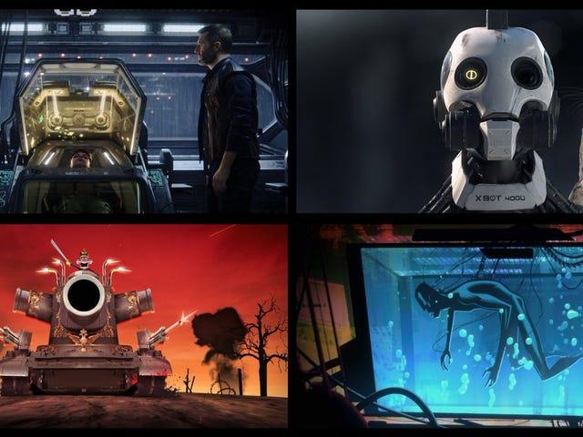 Primeras imágenes de Love, Death & Robots la nueva serie de Netflix de los directores de Fight Club y Deadpool
