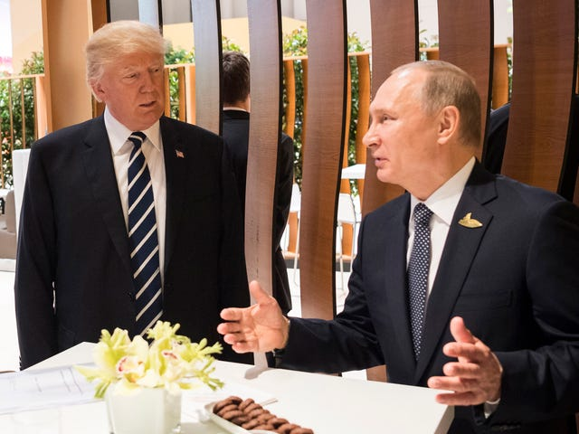 Trump, Come Get Your Boy! Vladimir Putin Claims Russia Has Nuclear Weapons That Can't Be Intercepted