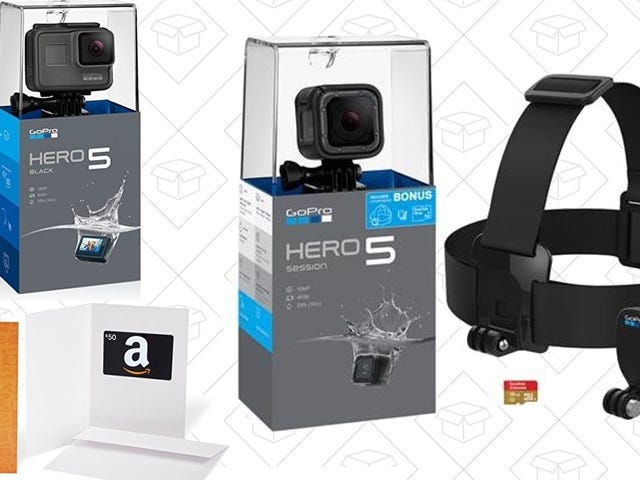 Amazon's GoPro Holiday Deals Are Available Now