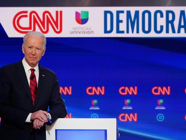 Joe Biden spazza le primarie inspiegabilmente detenute durante la pandemia di coronavirus