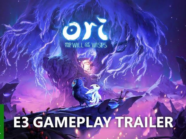 Hôm nay trong hội nghị tin tức E3 của Microsoft, nó đã giới thiệu một đoạn giới thiệu mới cho Ori And The Will Of The