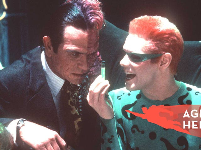 What the hell were any of us thinking making the terrible Batman Forever a huge hit?