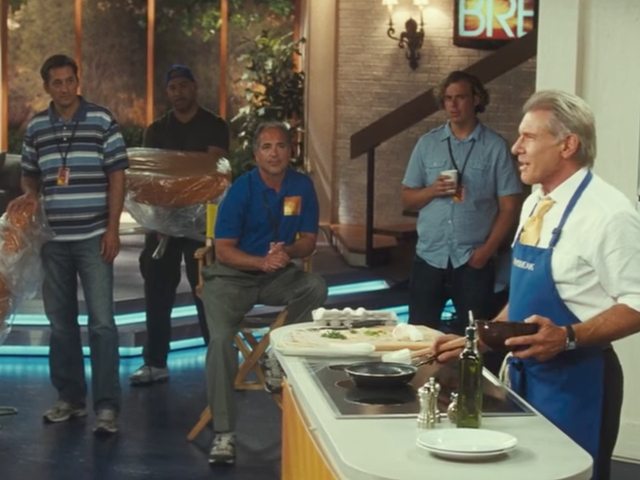 Harrison Ford, You Did More Than Just Make a Frittata in a Movie Once