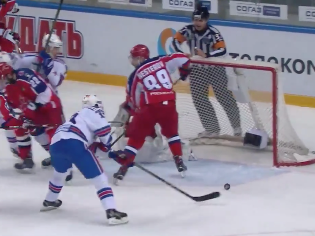 Pavel Datsyuk Got Robbed In OT And His Superteam Is Out Of The KHL Playoffs