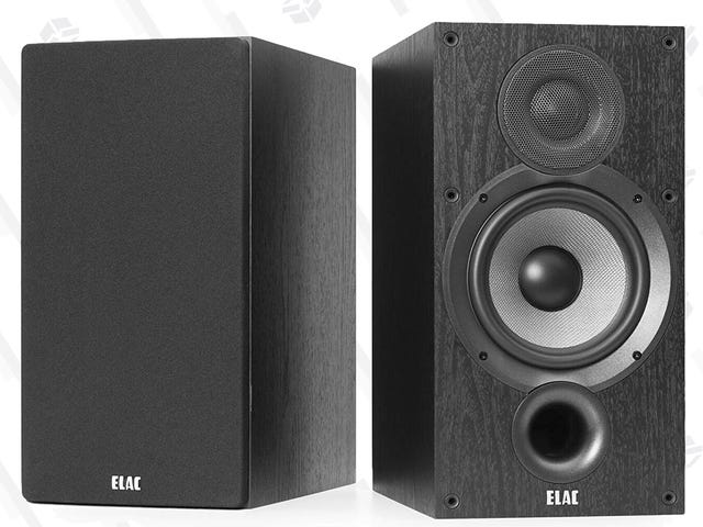 Save $50 On ELAC's Debut 2.0 Bookshelf Speakers