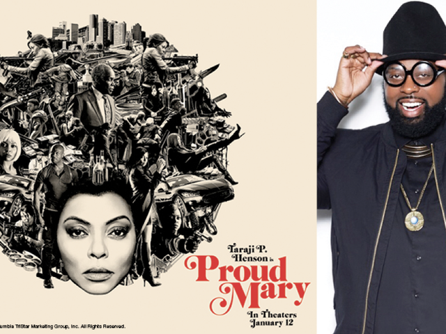 Making Proud Mary: Stylist Tym Wallace Shares His Behind-the-Scenes Secrets for Taraji's Killer Hair