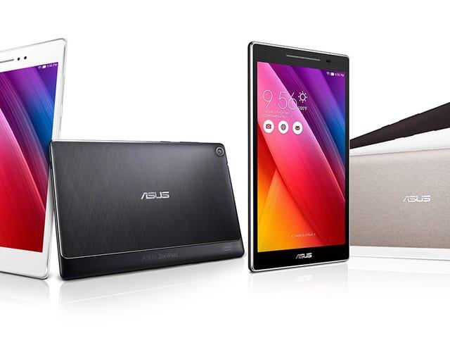 """Lo nuevo de Asus: tabletas con batería """"extra"""" y móviles para <i>selfies</i>"""