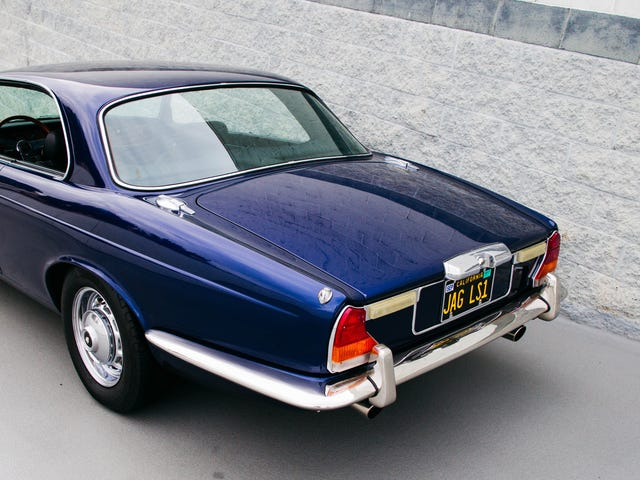 This Corvette-Powered 1976 Jaguar XJ Coupe Was Perfect