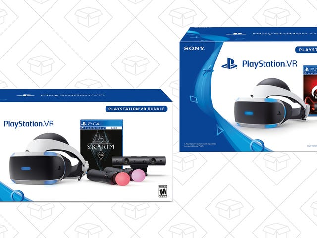 Here Are Your PlayStation VR Black Friday Bundles