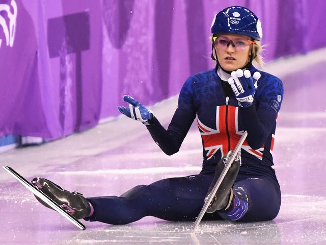 Elise Christie's Suspicious Short Track Crash Is As Frustrating As It Gets