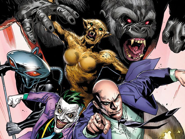 The Legion of Doom Is Finally Heading to DC's Comics in a Big Way
