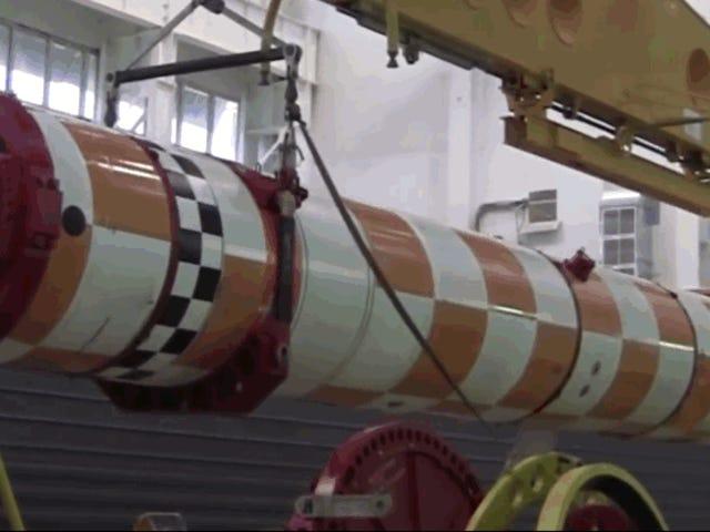 रसिया एनसेना डी फॉरमल ऑफ पायल एक पोसिडोन, एल टारपीडो परमाणु अनिश्चित काल के लिए कतारवाला ऊना ओजिवा डे 100 मेगाटोन