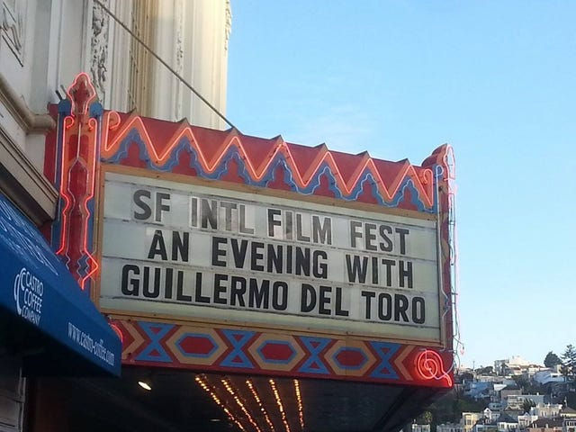 My best night ever, featuring Guillermo del Toro.
