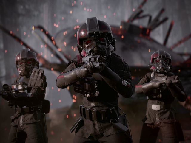We Streamed Star Wars Battlefront II's Single Player Campaign