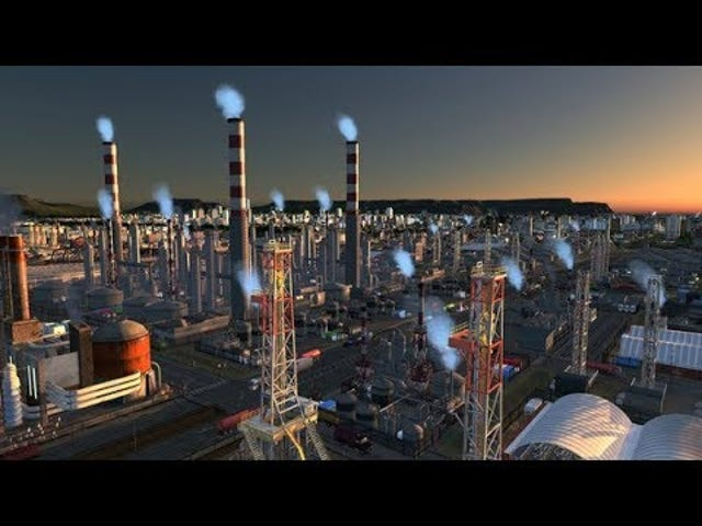 The latest official expansion for Cities: Skylines is all about your industrial areas, for those who