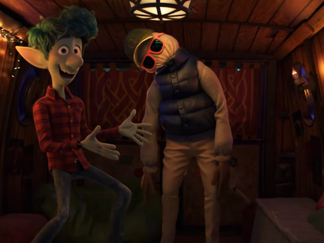 The New Trailer for Pixar's Onward Is Filled With Suburban Fantasy...and Half a Dad?