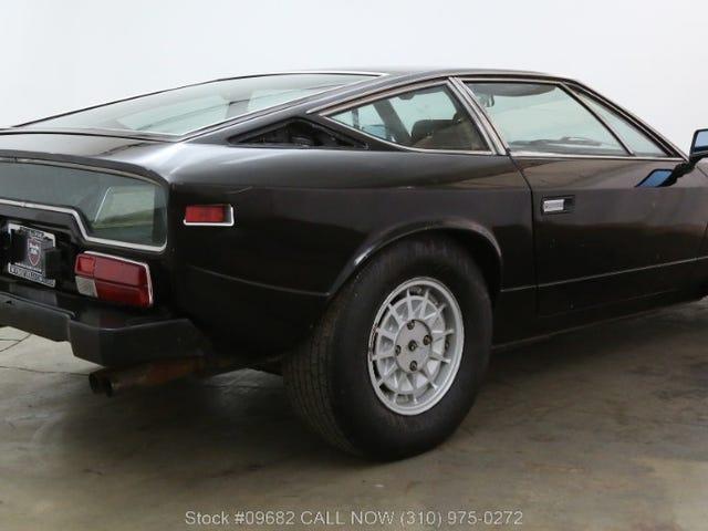 Morgen Oppo!  Lass uns über etwas Spaß diskutieren.  Siehe den Maserati Khamsin:
