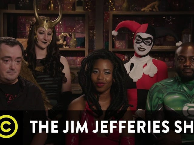 The Jim Jefferies Show Tackles Diversity in Comics