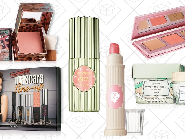Grab a Refill or Try Something New With Up to 60% off at Benefit Cosmetics
