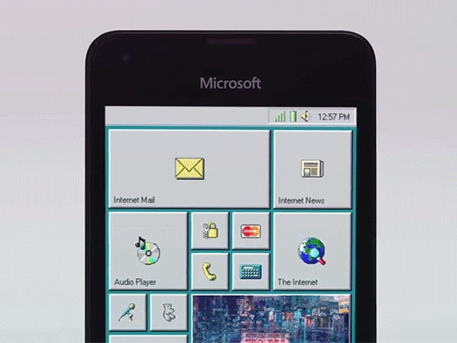 Finally, All of Microsoft's Mobile Failures Have Been Redeemed With This Windows 95 Phone