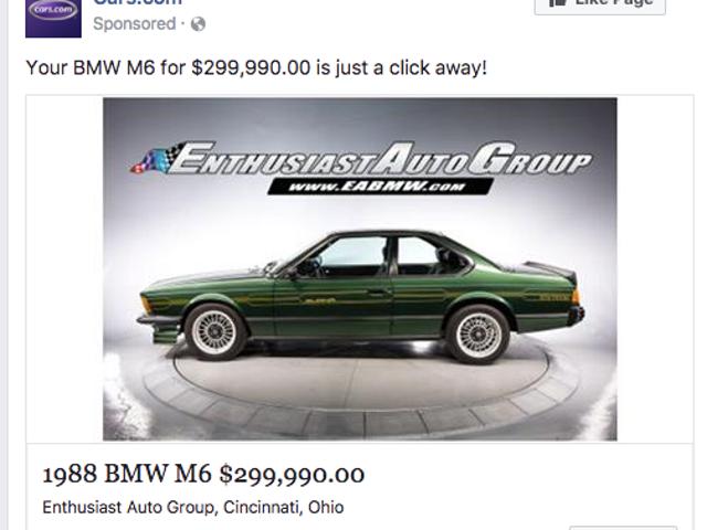 Les publicités Facebook connaissent si bien mes goûts
