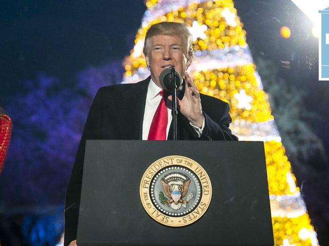 Boże Narodzenie przyszło wcześnie dla prezydenta Trumpa, dzięki prokuratorowi generalnemu Barr