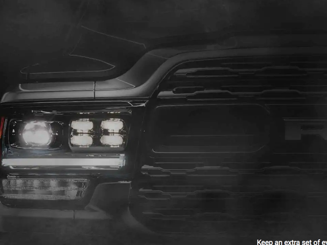The New Ram Heavy Duty Looks Like It's Coming to Eat You