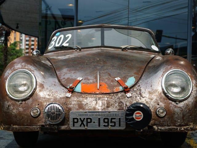 Найстаріший Porsche в Бразилії