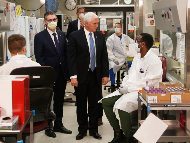 Vice President Mike Pence Is a Crash Test Dummy for Trump