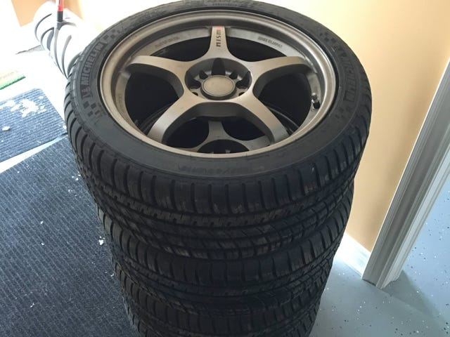 New summer wheels/tires