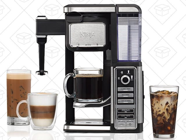 Perk Up With the Best Price Ever on Ninja's Single Serve Coffee Maker