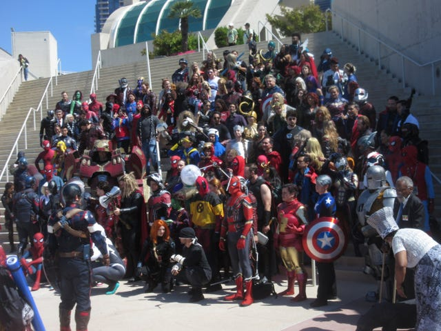Comic Con Report, volume 2; A Moment in Cosplay