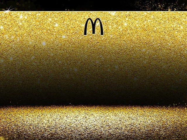 McDonald's sorteará una tarjeta dorada para comer gratis de por vida como la que tiene Bill Gates