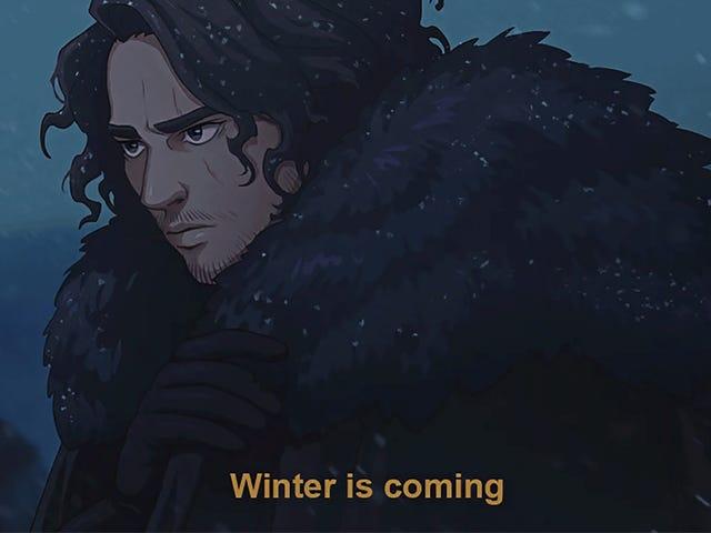 Se Game Of Thrones era un anime