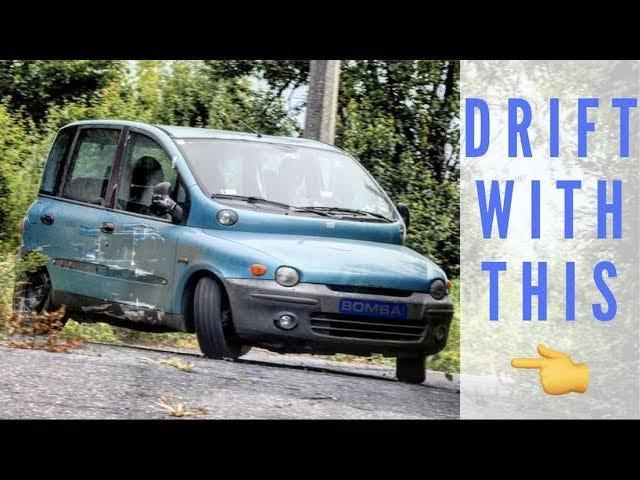 Watch a Multipla drift. This is worth a fullscreen click.