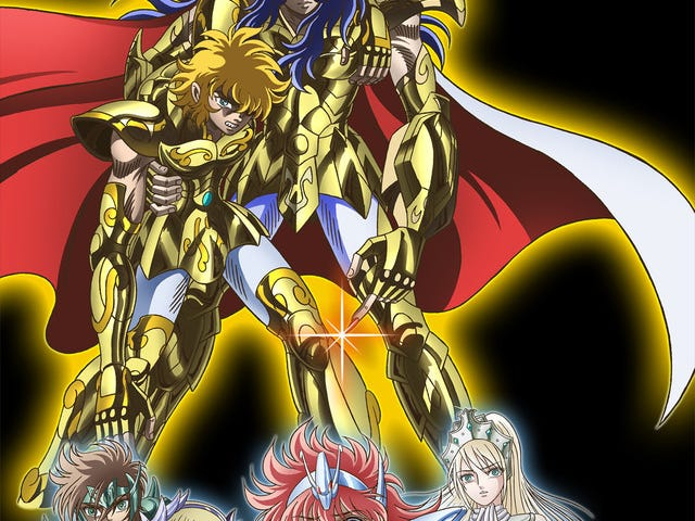 The anime of Saint Seiya: Saintia Sho will be released next year!